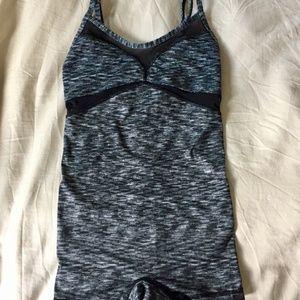 Lululemon Bodysuit with Shorts